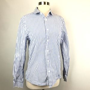 ASOS Striped Oxford Button Down Shirt
